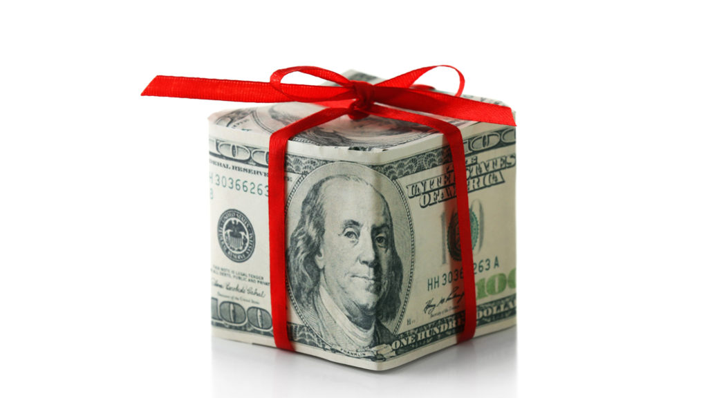 Getting a Financial Gift? Here Are the Rules